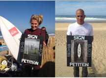 Surfers against sewage: a petition to protect UK coastlines